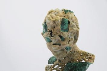 Satire is 3D printed in 'sandstone' effect plastics